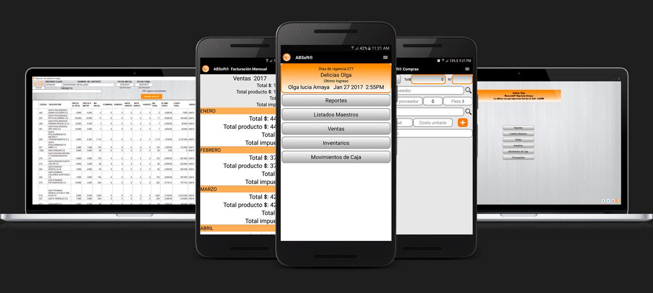 Aplicación para administrar negocio